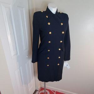 Ralph Lauren st barts navy dress